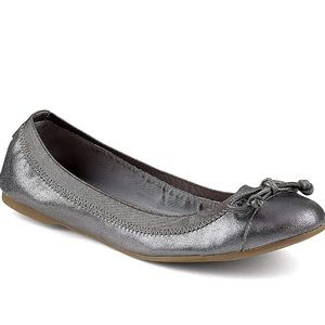 Sperry Top-Sider grey/silver flats size 7